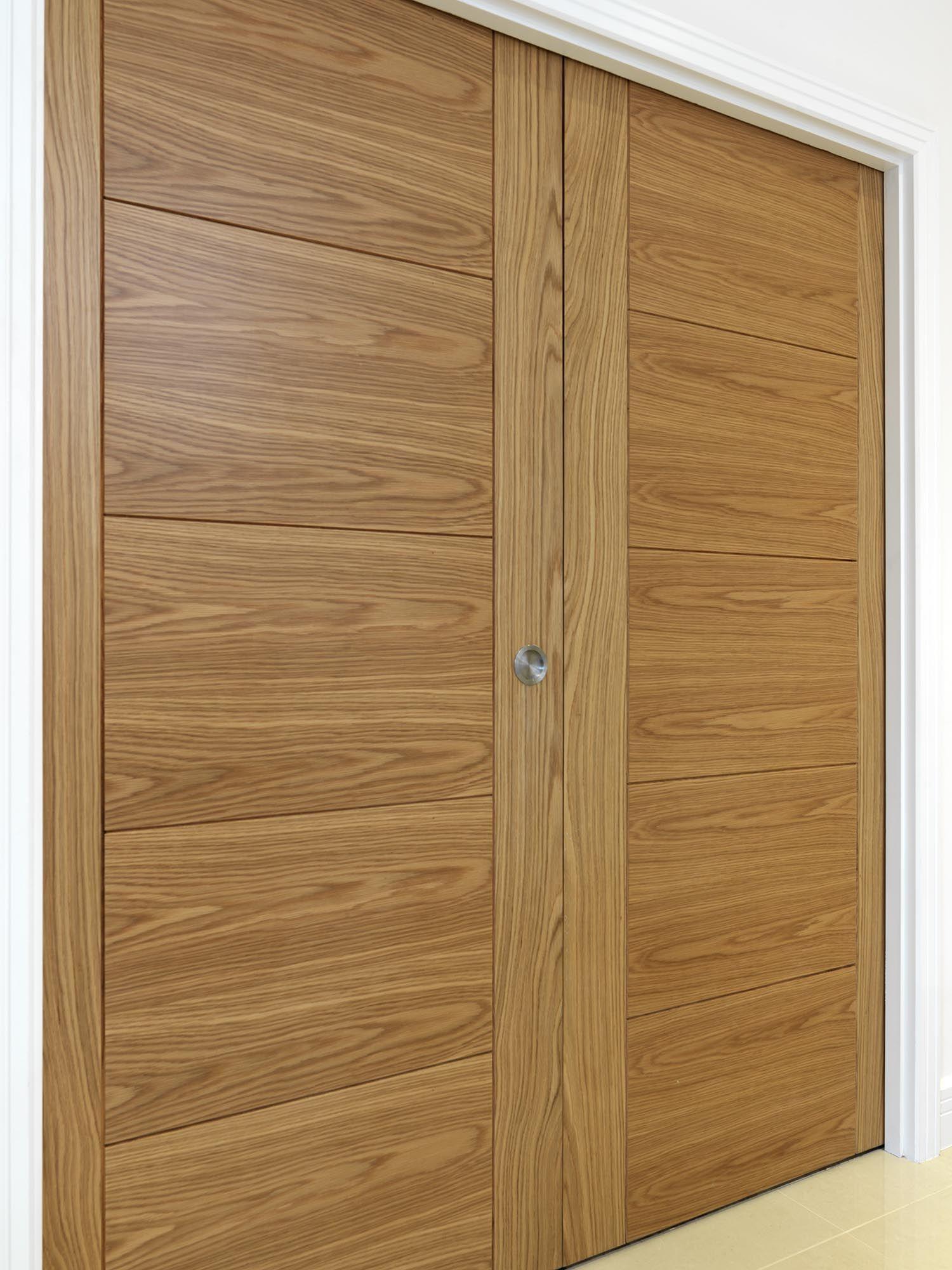 Beautiful Oak Veneered Doors Fitted Into A Pocket Door System. JB Kindu0027s  River Oak