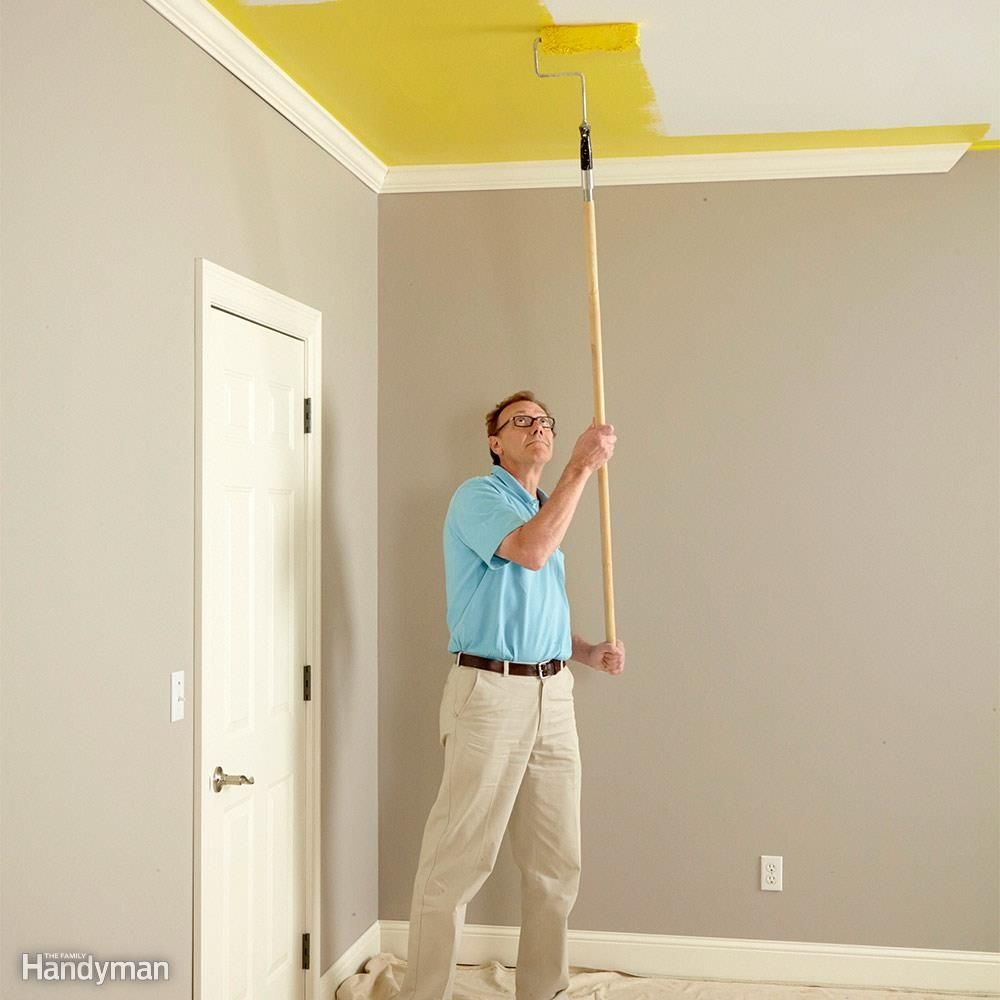 Before Painting Any Walls Take A Good Look At Your Ceiling If You Think It Needs Refreshing Paint It First Y Painting Tips Room Paint Professional Painters