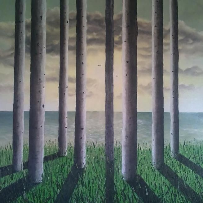 Ashleigh Bysouth Original Art Work Scotland | Woodland