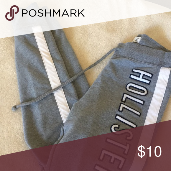 8684a34d7469ce Spotted while shopping on Poshmark: Hollister Grey Leggings! #poshmark # fashion #shopping