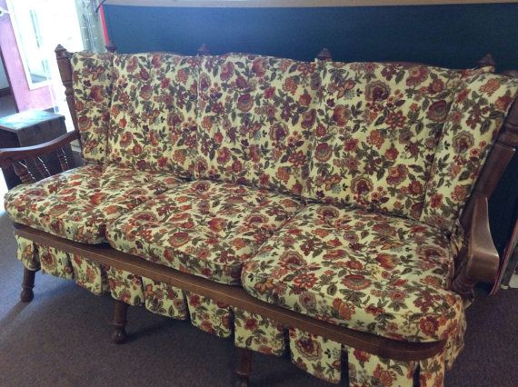 Tell City Chair Company Sofa Mid Century By Ostrichandpeacock