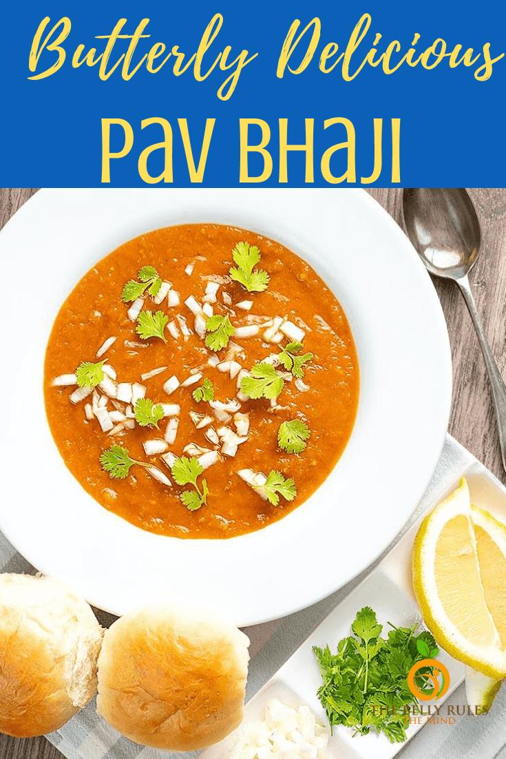 Mashup ethnic food recipes pinterest Pav Bhaji How To Make Pav Bhaji Video Recipe Thebellyrulesthemind Recipe Recipes Pav Bhaji Homemade Dinner Rolls