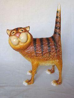 Игрушки животные, ручной работы. Ярмарка Мастеров - ручная работа. Купить кот рыжий  упитанный Оптимист. Handmade. Кот, рыжий