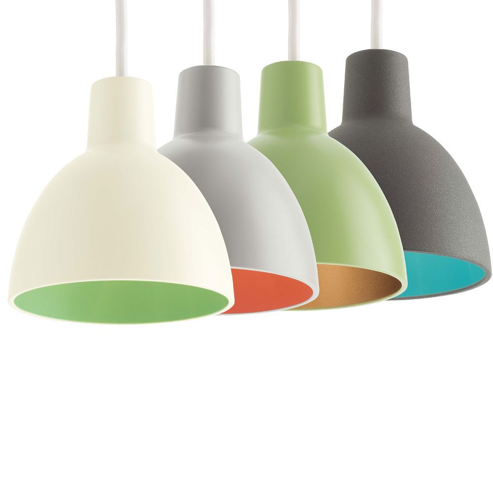 green pendant lighting. With The Toldbod 120 DUO Pendant By Louis Poulsen Colours Comes Into Play: Is Upbeat Version Of Well-known As Green Lighting