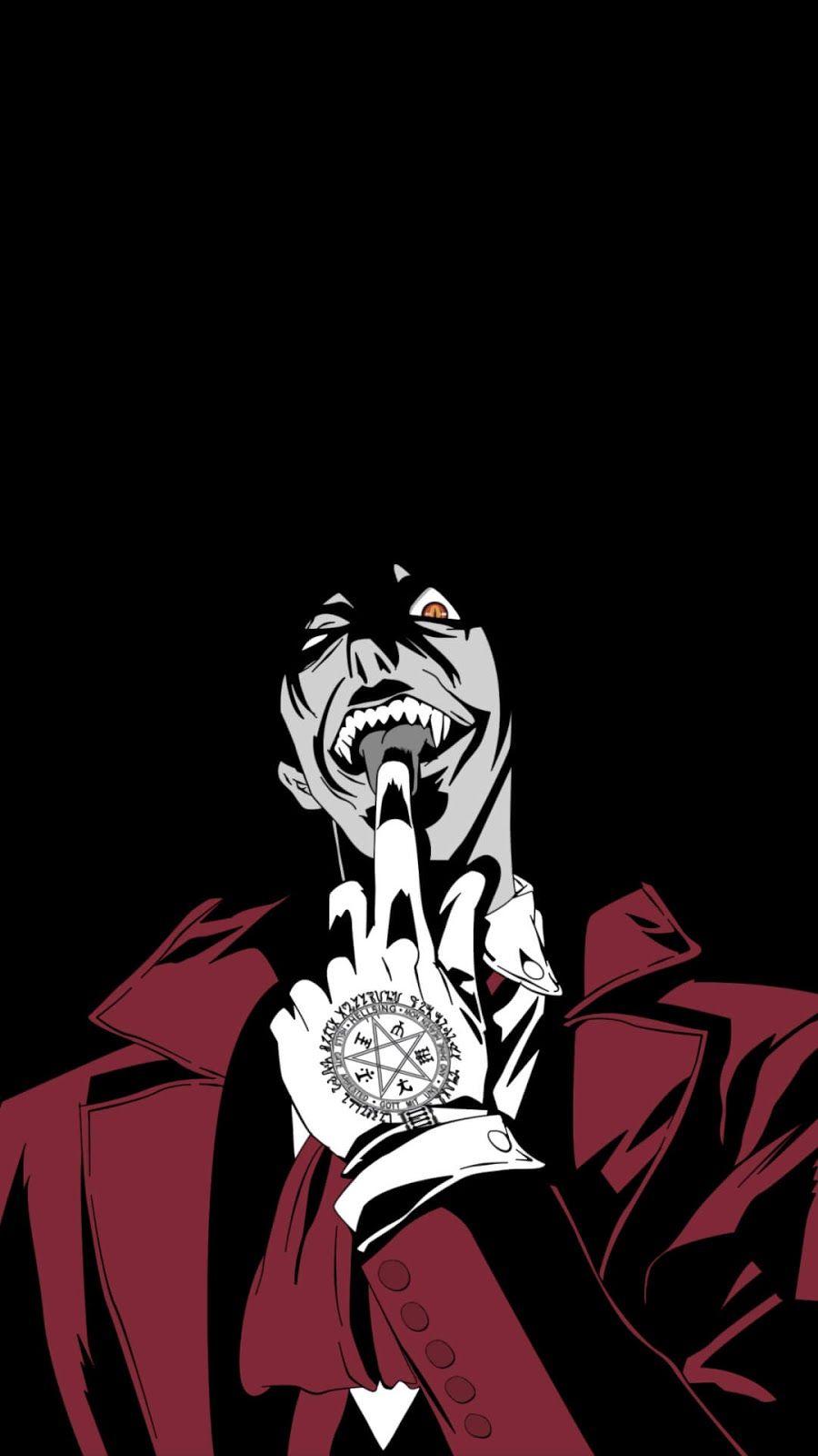 Alucard Hellsing Wallpaper Hellsing Alucard Dark Anime Anime Wallpaper 1920x1080