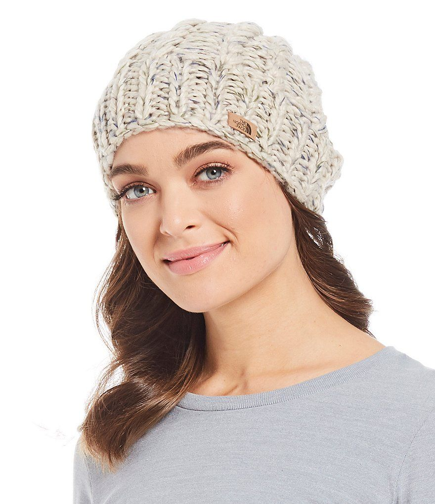 63c9aaab5 The North Face Ladies' Chunky Knit Beanie. Something similar or even ...