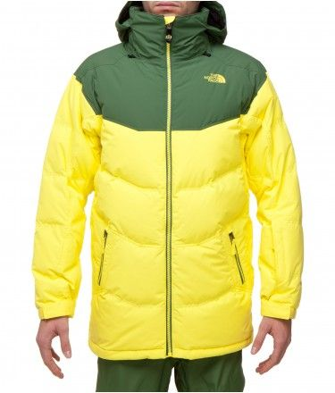 the north face men s knuckle down jacket snowsports jacket rh pinterest com