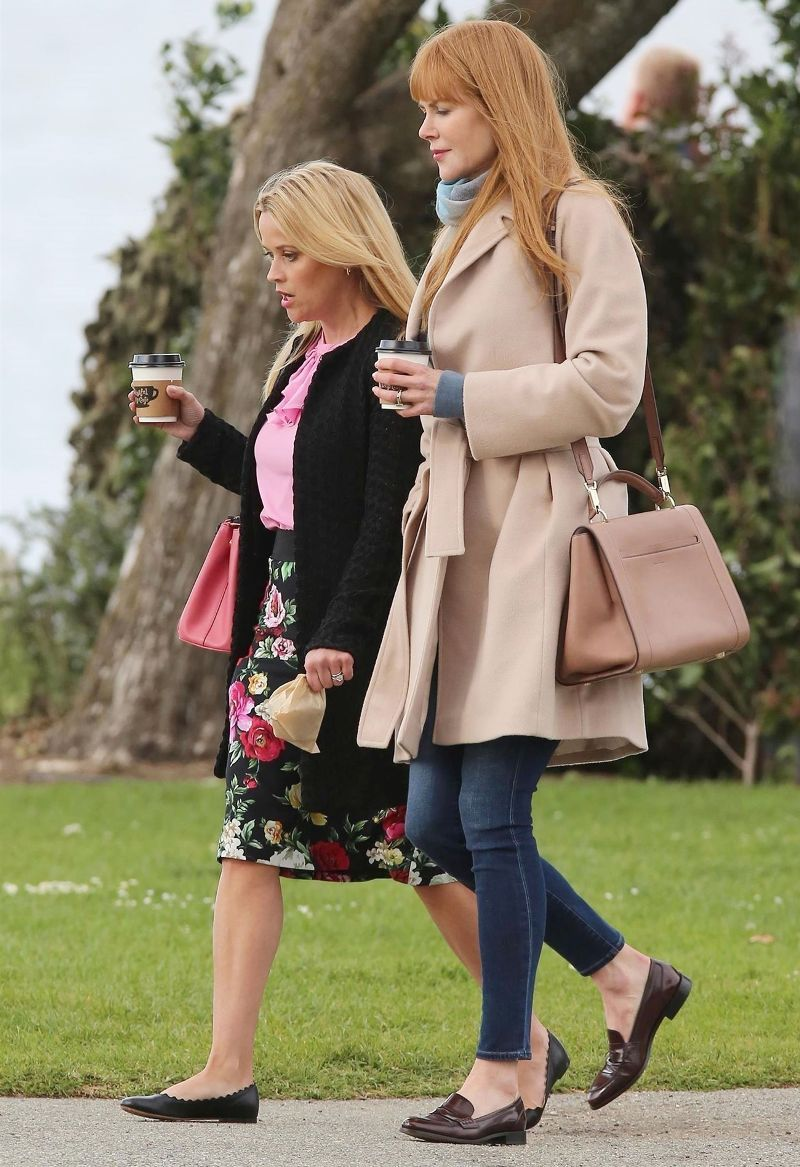 Reese Witherspoon Just Wore The Cutest Dress On The Set Of Big