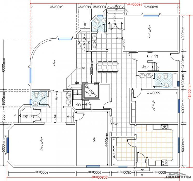 صفحة 28 Home Design Floor Plans Square House Plans Family House Plans