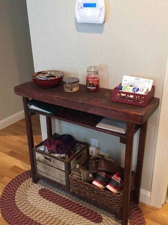 Awe Inspiring Rustic Primitive Reclaimed Wood Sofa Hall Console Accent Inzonedesignstudio Interior Chair Design Inzonedesignstudiocom
