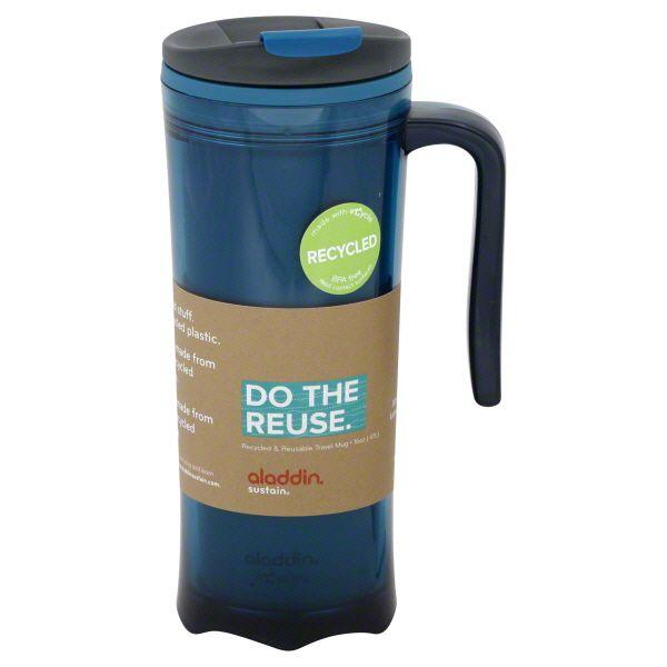 0773bd08ec1 Aladdin Travel Mug, Recycled & Reusable, 16 Oz Image. A recycled cup ...