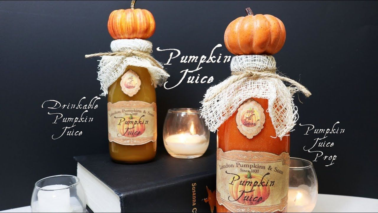 Pumpkin Juice : Copycat Harry Potter Pumpkin Juice : Pumpkin Juice ...