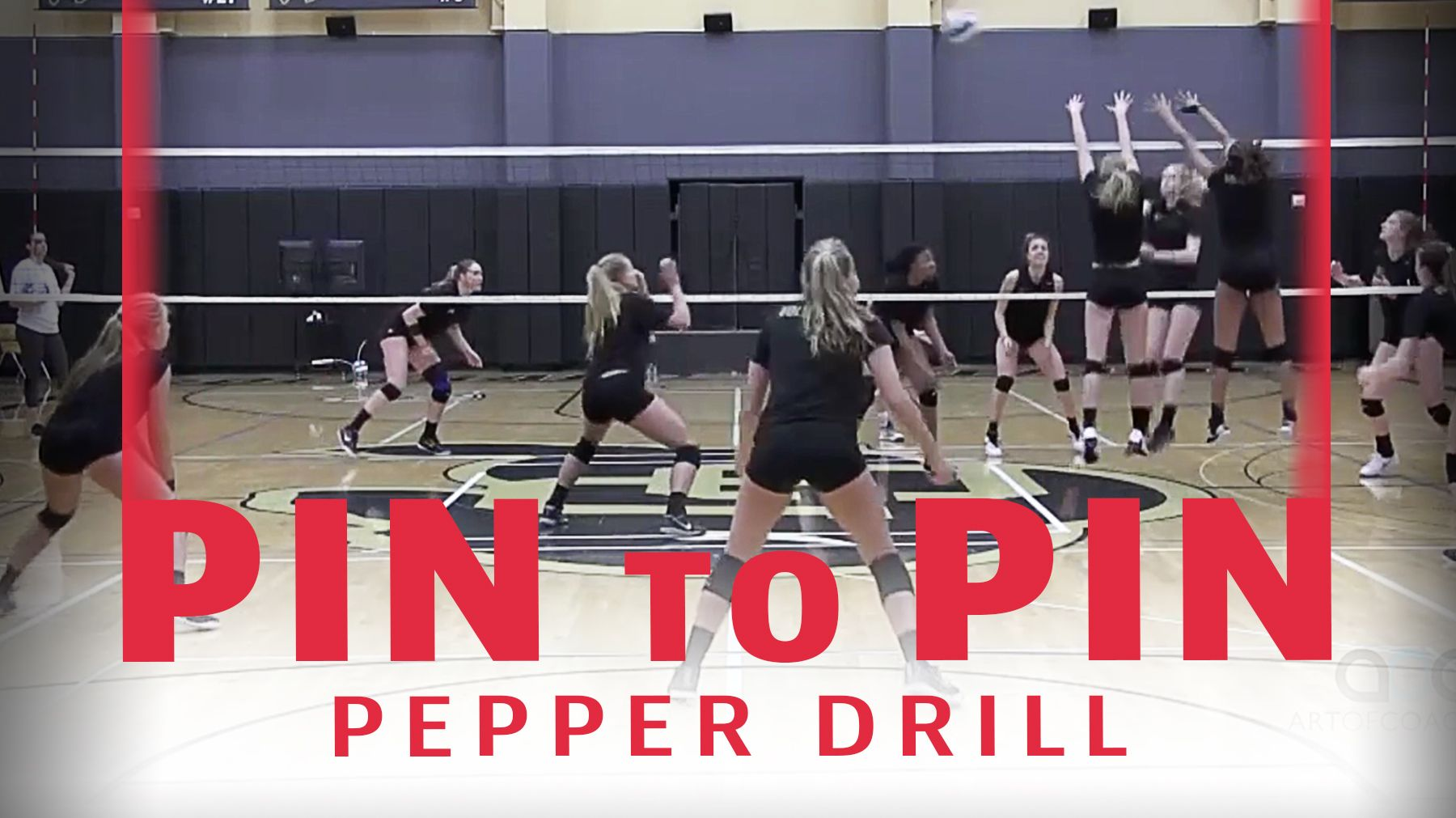 Pin To Pin Pepper Drill Coaching Volleyball Drill Volleyball Drills