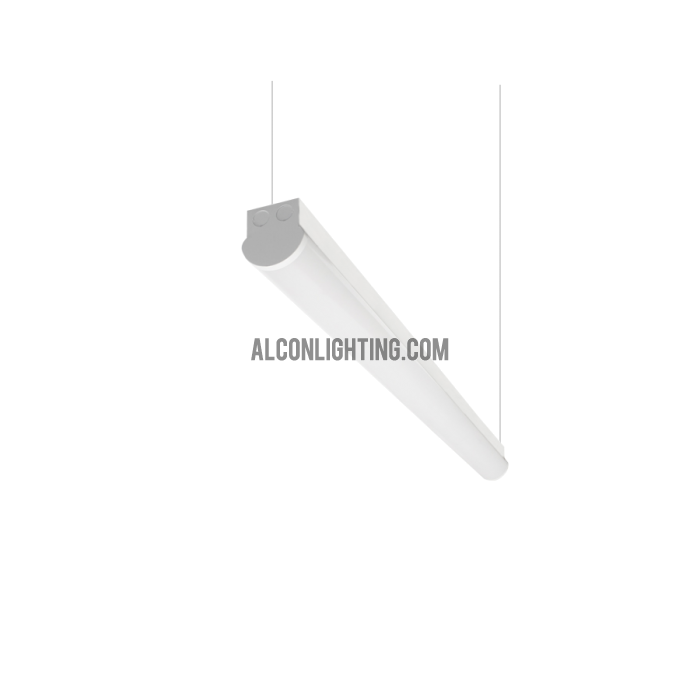 Alcon Lighting Chela 11215-8-P Architectural Suspended Commercial Linear LED Pendant - 8 Foot