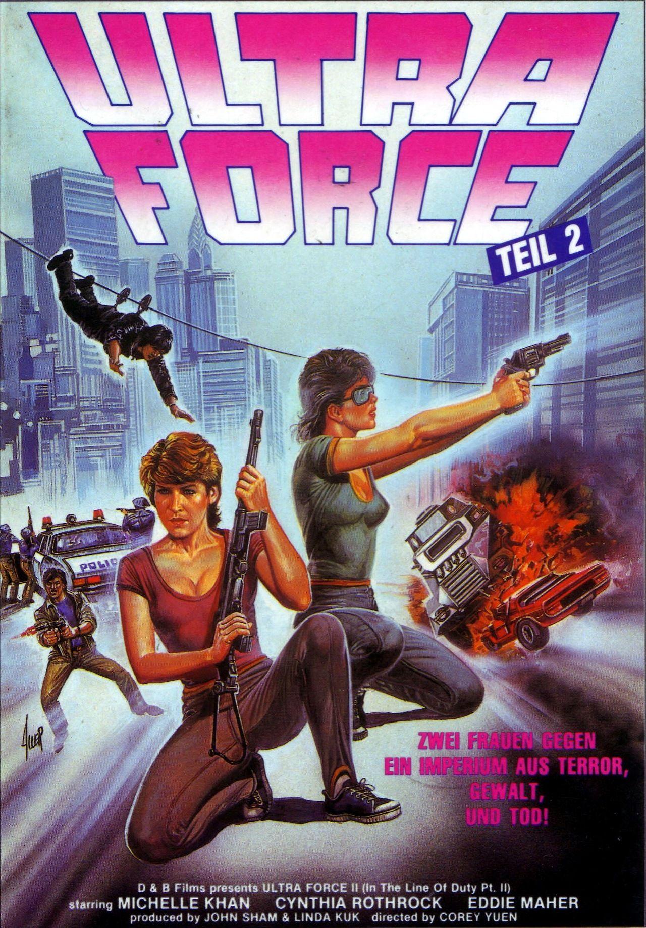 Ultra Force 2 Filmplakate, Filme, Plakat
