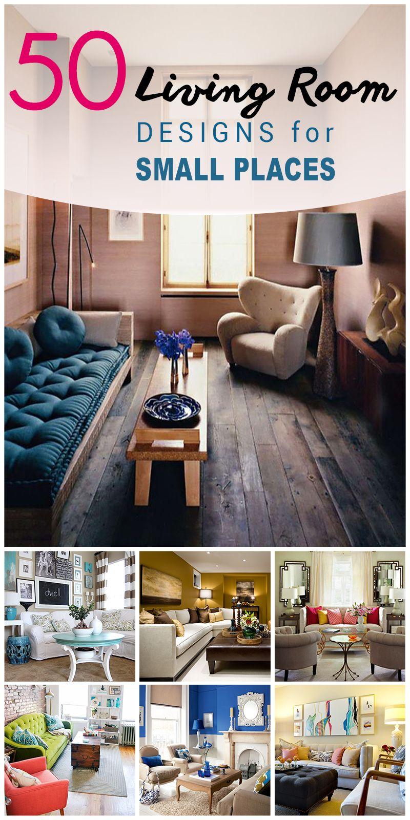 50 besten kleinen Wohnzimmer Design-Ideen | kleine Wohnung ...