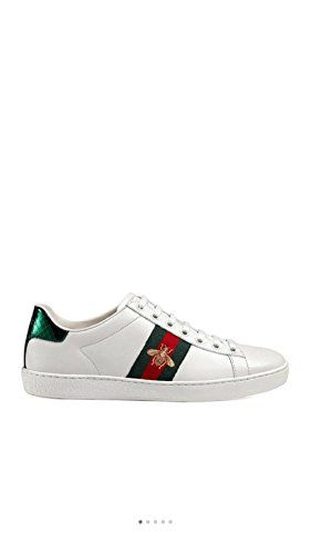 4ff64a120c5 Simple-Gucci New Style Womens Shoes Leather Embroidery Small Bee Sports  Shoes Casual Shoes White Shoes