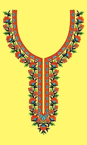 African Womens Dress Neck Design 16793 Soda Pinterest Africans