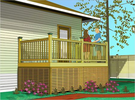 Lattice Under Deck Alternatives Under Deck Panel Porch Design
