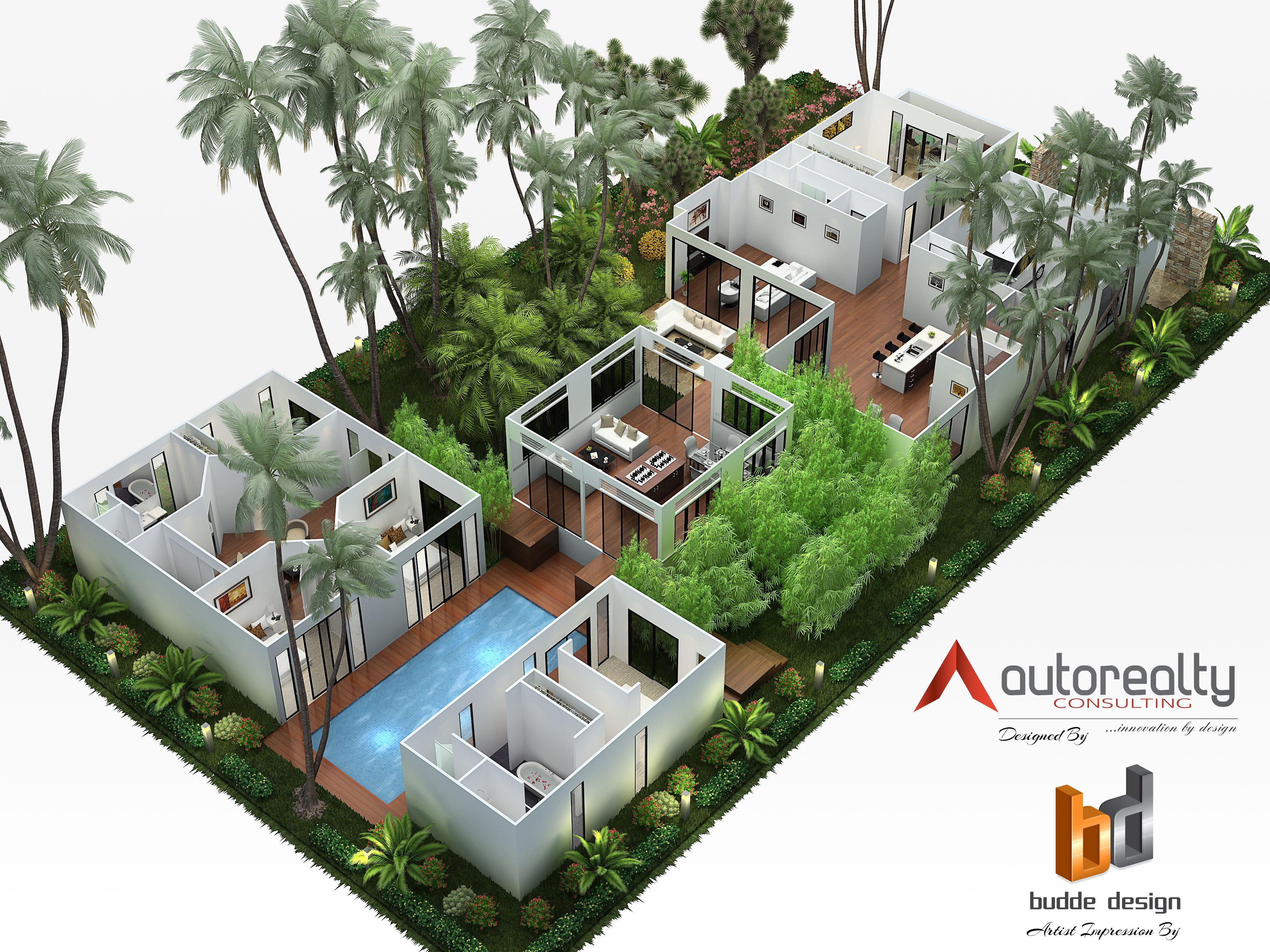 3d Floor Plan Hawaii 3d Floor Plan Gallery House Plans Sims House Design 3d House Plans