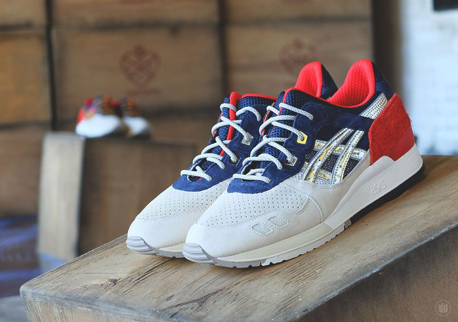 "BAIT x ASICS Gel Lyte III ""Nippon Blues"" Basics Model-003 