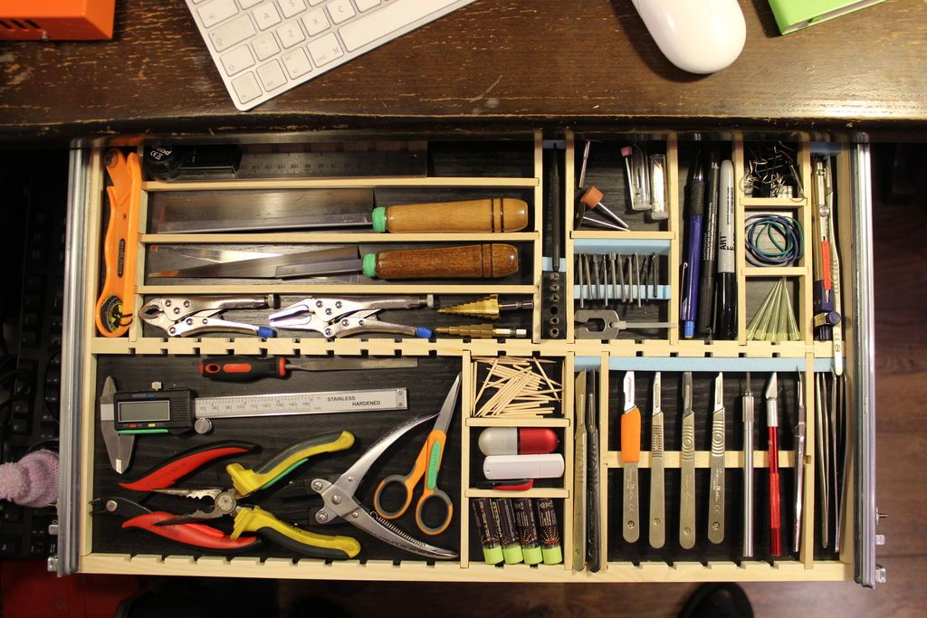 Under Desk Tool Drawer Modeller S Delight Tool Drawers