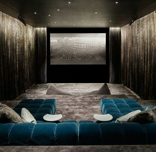Home Theater Design Ideas Diy: Entertainment Areas More Relaxed But Stylish And Luxe