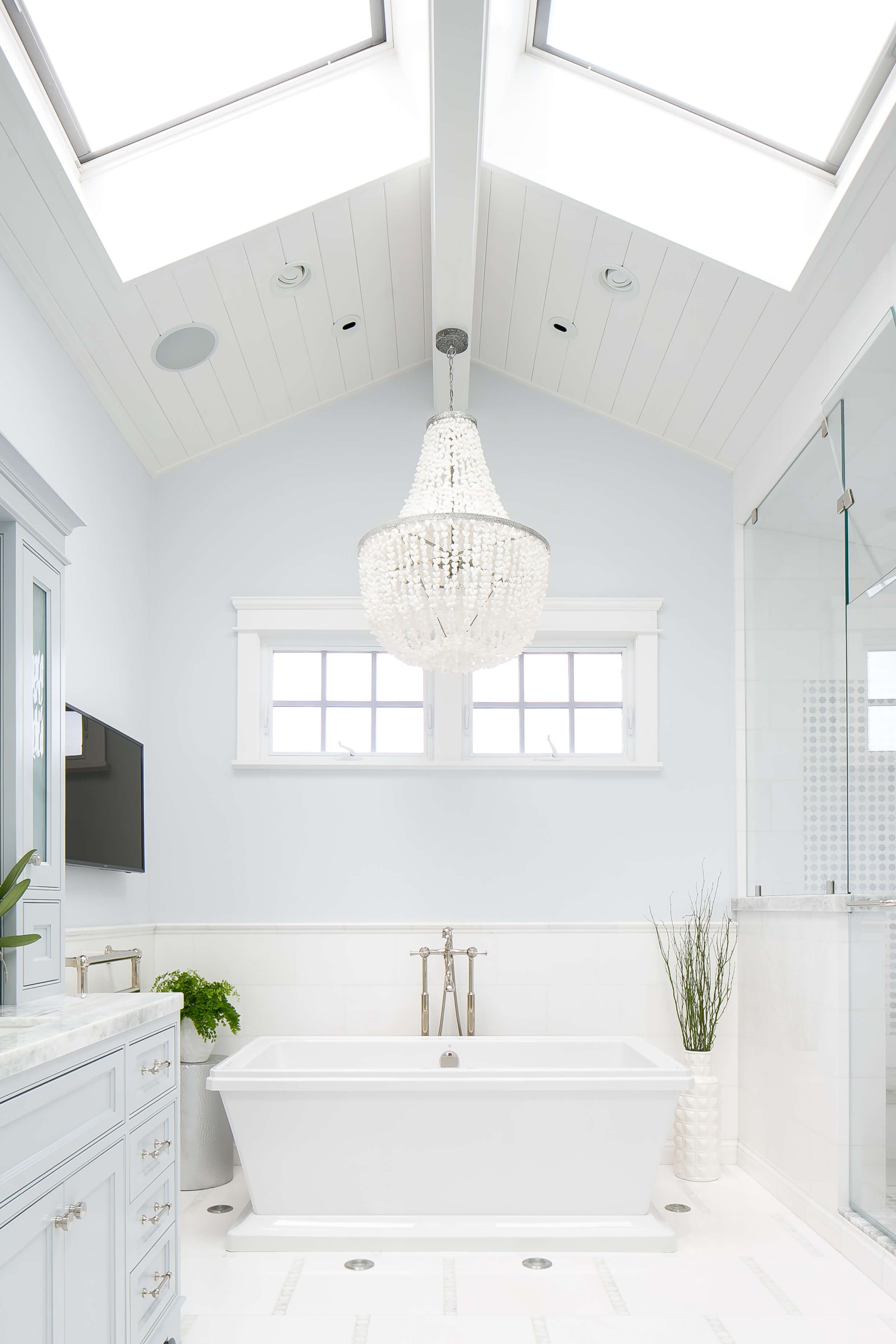 We Love Seeing More Of This Light Blue In Interiors These