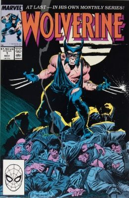 Top 20 Most Valuable Comic Books From The Copper Age Wolverine Comic Wolverine Comic Cover Wolverine Comicbook