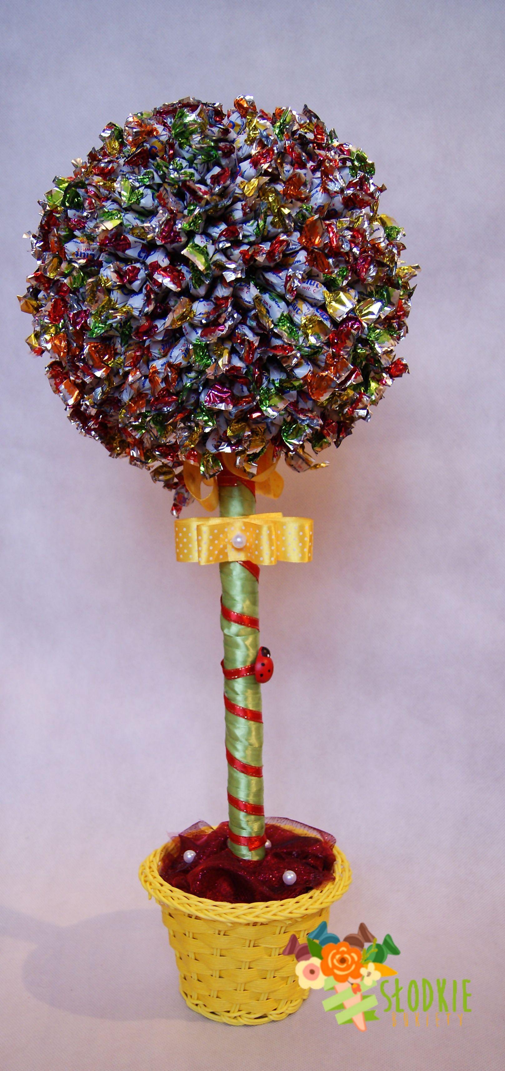 Przepis na szczęście! 60cm wysokości i 1.5 kg mini cukiereczków. www.slodki-upominek.pl