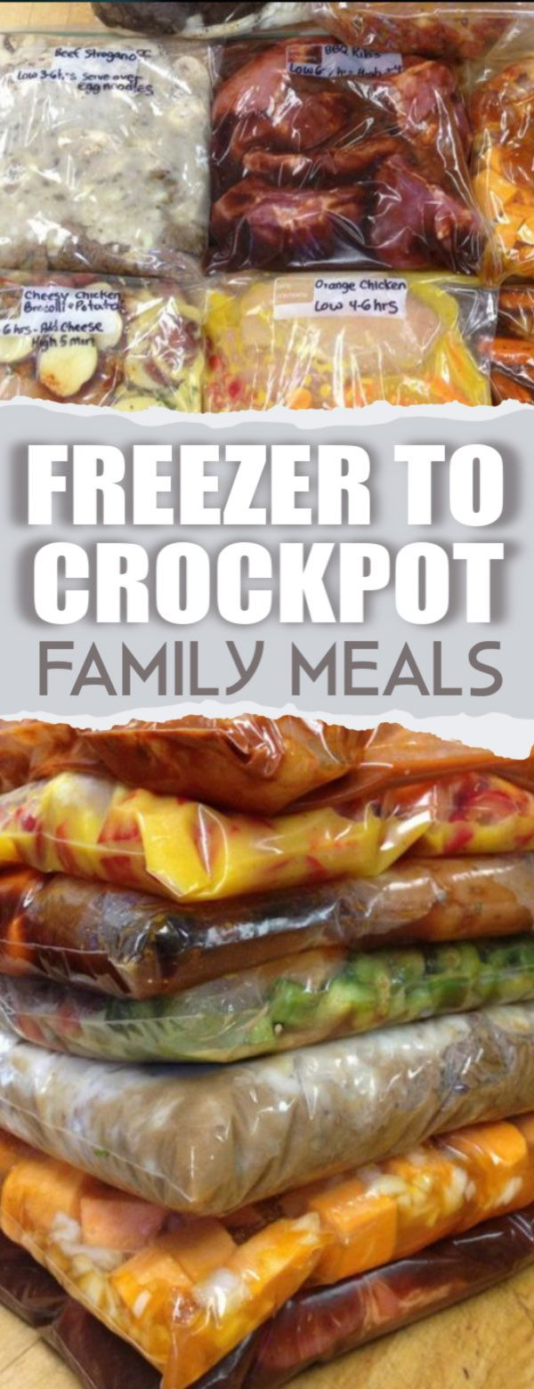 Freezer To Crockpot Meals images
