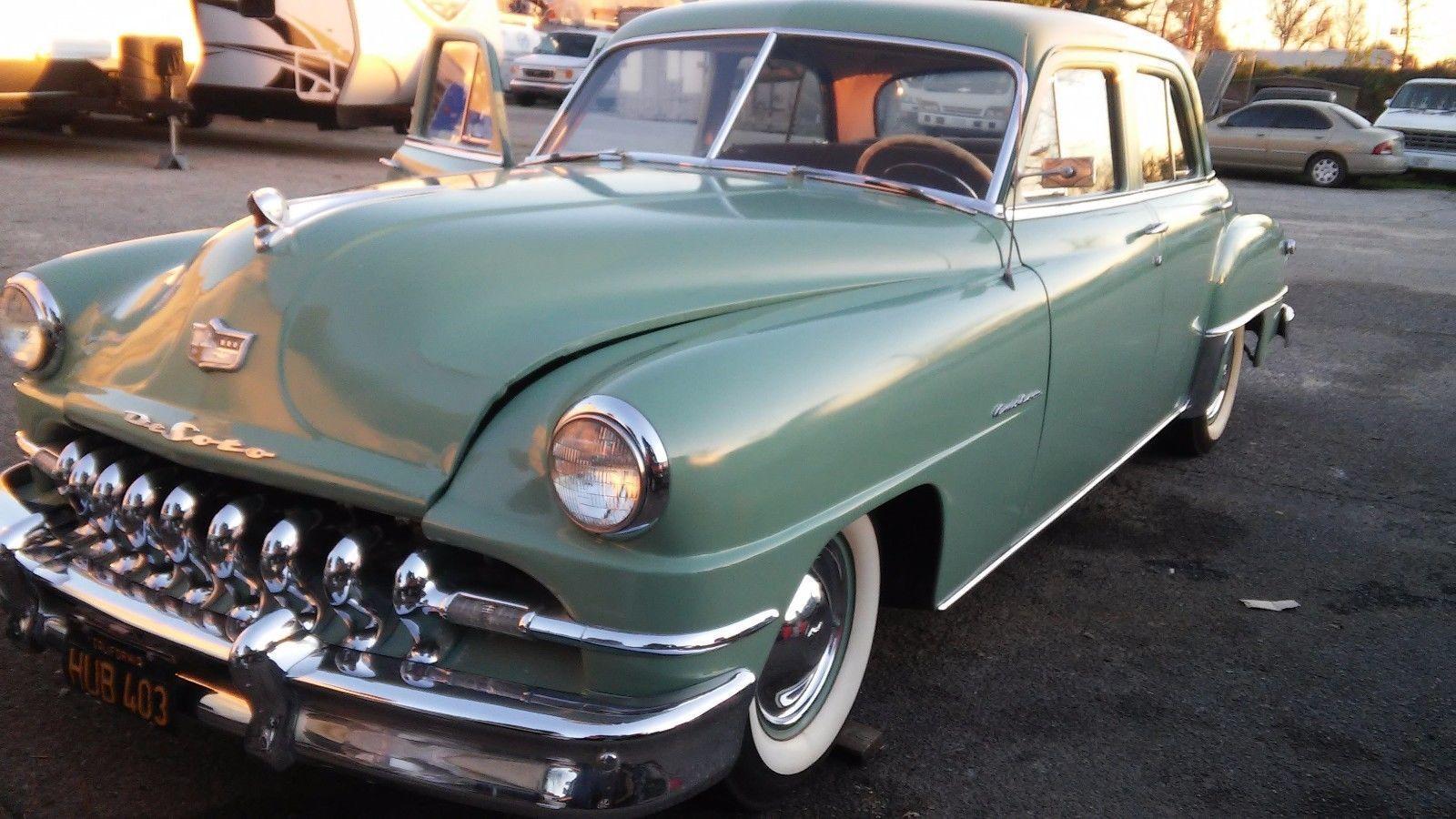1951 DeSoto Deluxe   eBay   DeSoto   Pinterest   Motor car and Cars