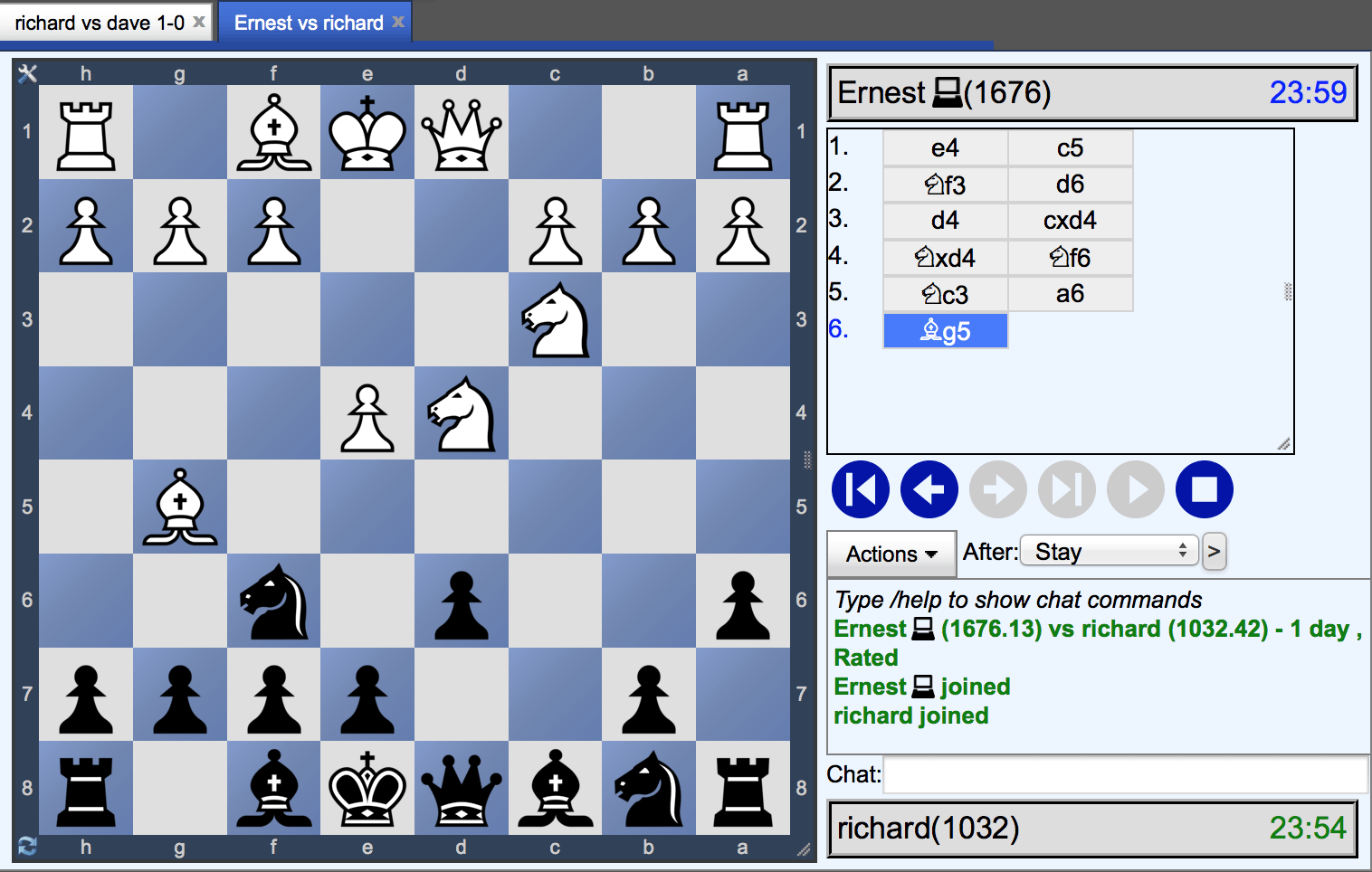 Play Online Chess At Chess Tempo Play Chess Online Chess Online How To Play Chess