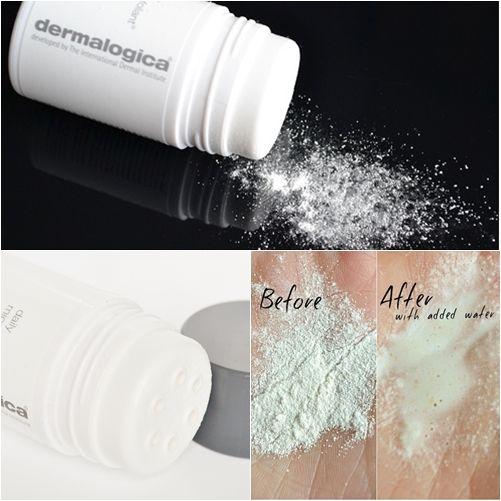 #Dermalogica Daily Microfoliant (Travel Size) - http://www.beautybridge.com/dedamitsi.html #beautybridge  Photo credit: http://www.makeupsavvy.co.uk/2013/09/savvy-sunday-skincare-nonabrasive.html