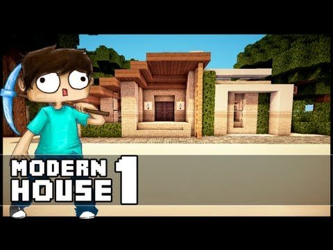 Minecraft Lets Build Small Modern House