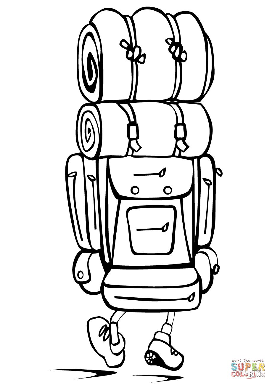 Backpack Coloring Page Camping Backpack Coloring Page Free Printable Coloring Pages Entitlementtrap Com Free Printable Coloring Pages Free Printable Coloring Printable Coloring Pages
