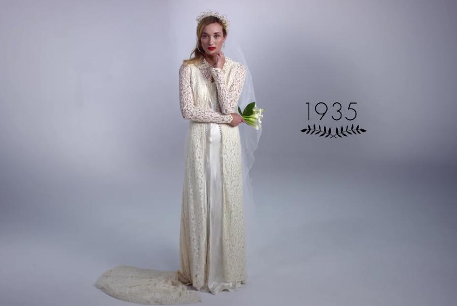 Vestidos de novia en 3 minutos