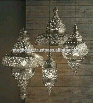 Decorative Hanging Lanterns Wholesale Silver Moroccan Lantern Cut Work Moroccan Lanterns Hanging