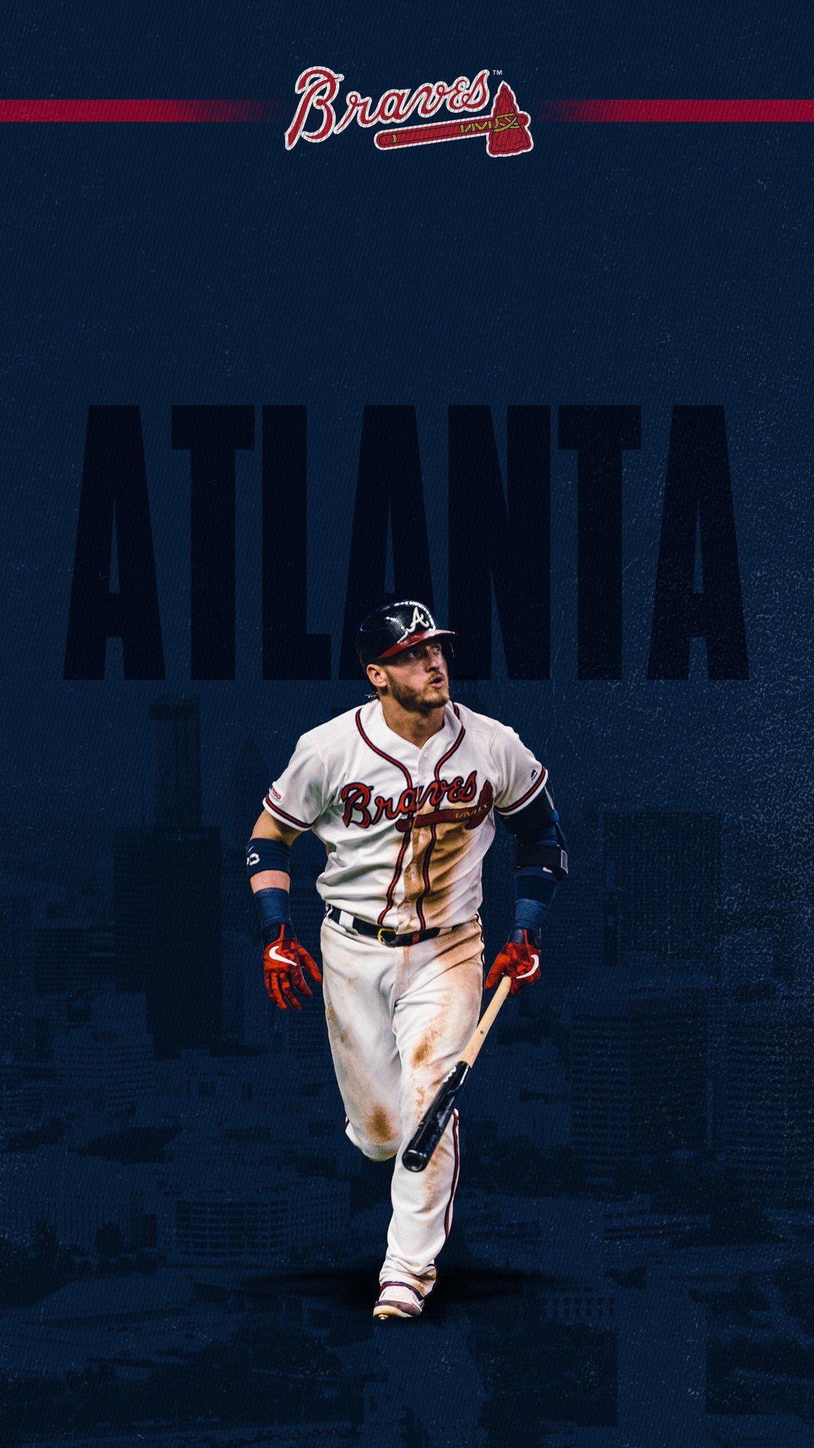 Atlanta Braves On Twitter Atlanta Braves Baseball Atlanta Braves Wallpaper Braves