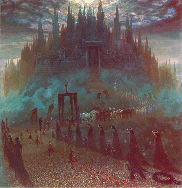 """Stanisław Trojański """"Funeral of hearts"""""""