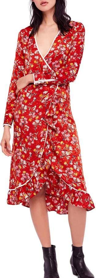 0314feb9a0119 Free People Covent Garden Midi Wrap Dress