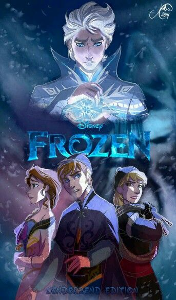 Frozen Cambio De Generos Personajes Disney Personajes De Dibujos Animados Clasicos Princesas Disney