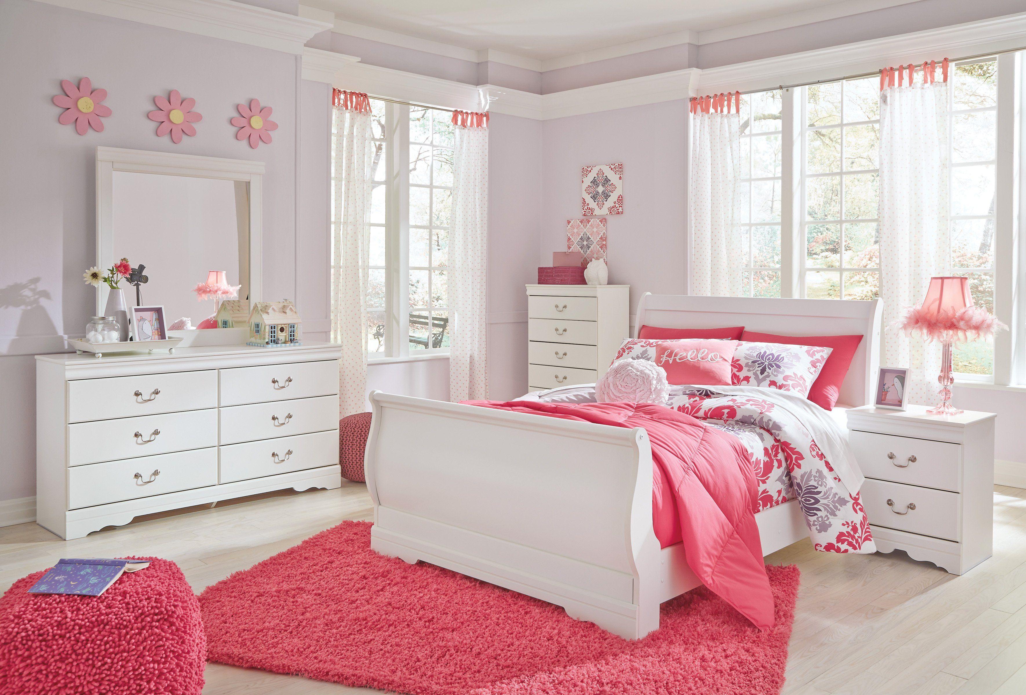 Best Anarasia Sleigh Bed White Sleigh Bedroom Set 400 x 300