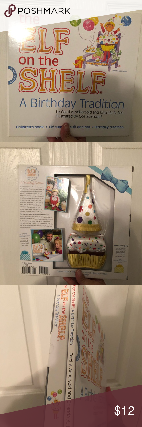 Elf on the Shelf Birthday set New in box. Comes with children's book and elf c...,  #Birthday...