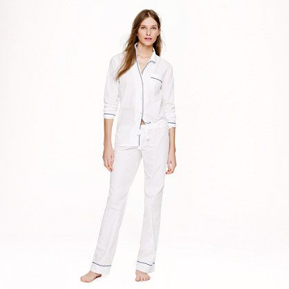 j crew vintage pajama set these are so comfy and attractive even after a