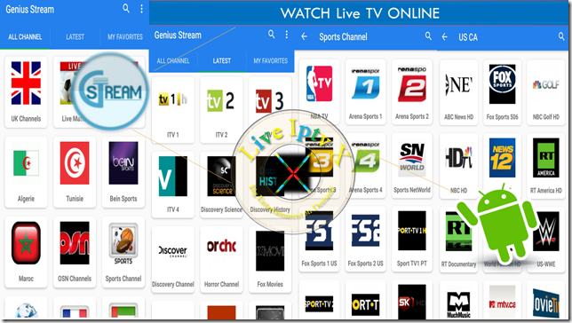 Best Streaming TV Online - Genius Stream APK For Android Device