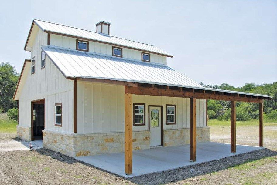 13+ Best Metal Barndominium Floor Plans for your Dream House #polebarndesigns