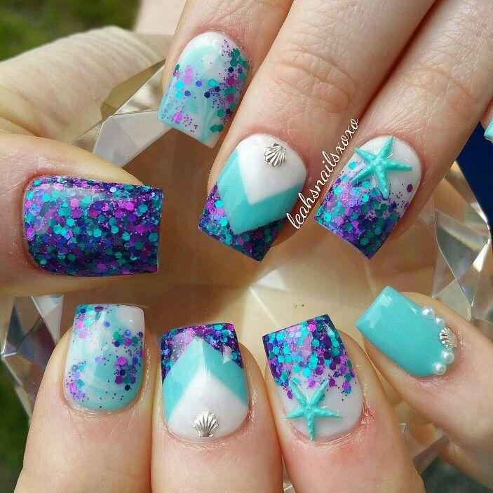 Follow me for more nails! Leahsnailsxoxo