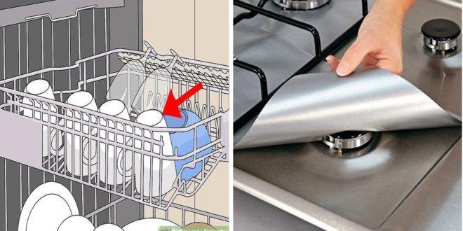 10 حيل ذكية لتنظيف المنزل مخصصة للنساء الك سالى بسبب سهولتها Washing Machine Laundry Machine Home Appliances