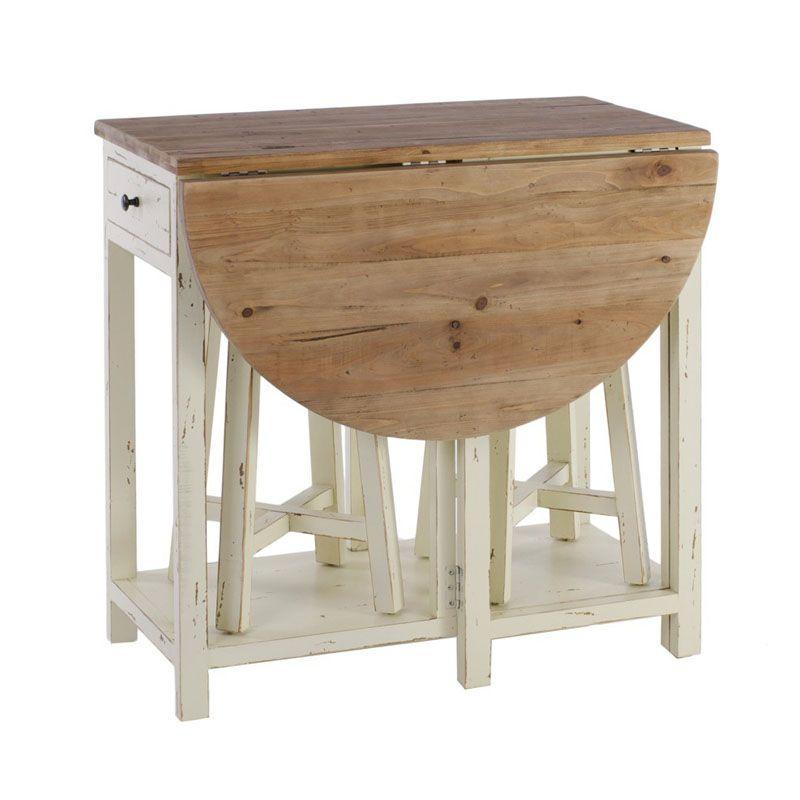 342 un estilo que cabalga entre lo neo cl sico y el for Mesas cocina plegables